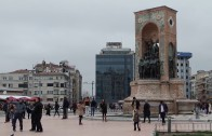Left Over Work in Istanbul / Galatasaray Square − Beyoğlu